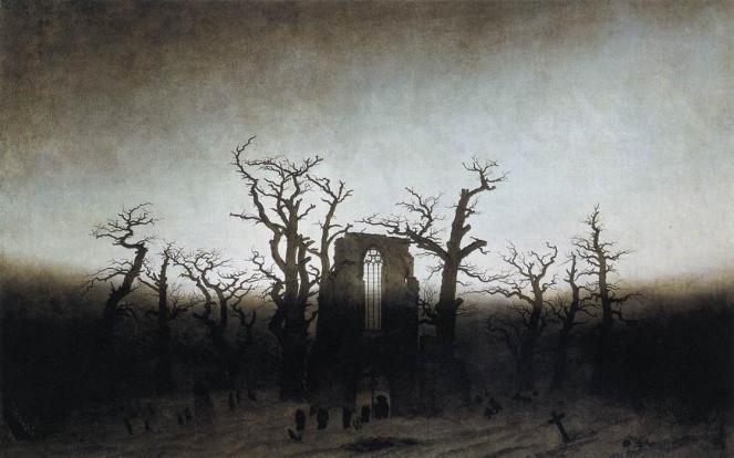 Caspar-David-Friedrich-The-Abbey-in-the-Oakwood
